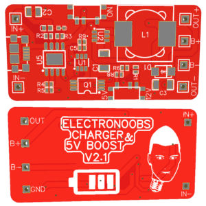 LiPo Charger Protection & Boost V2.1